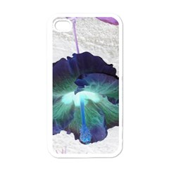 Exotic Hybiscus   White Apple iPhone 4 Case
