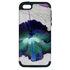 Exotic Hybiscus   Apple iPhone 5 Hardshell Case (PC+Silicone)