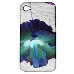Exotic Hybiscus   Apple Iphone 4/4s Hardshell Case (pc+silicone)