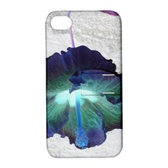 Exotic Hybiscus   Apple Iphone 4/4s Hardshell Case With Stand