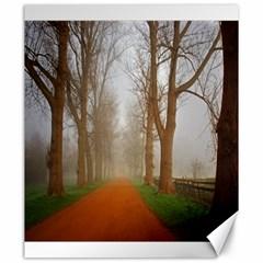 Foggy Morning, Oxford 20  X 24  Unframed Canvas Print