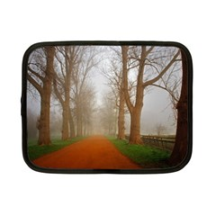 Foggy morning, Oxford 7  Netbook Case