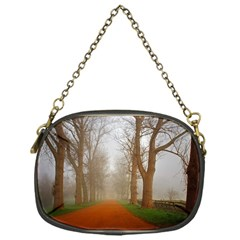 Foggy Morning, Oxford Single Sided Evening Purse