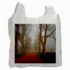 Foggy Morning, Oxford Twin Sided Reusable Shopping Bag