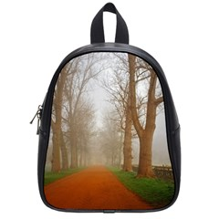 Foggy Morning, Oxford Small School Backpack