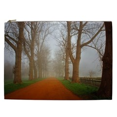 Foggy morning, Oxford Cosmetic Bag (XXL)