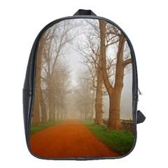 Foggy morning, Oxford School Bag (XL)