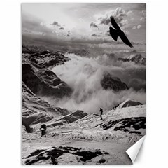 Untersberg mountain, Austria 12  x 16  Unframed Canvas Print