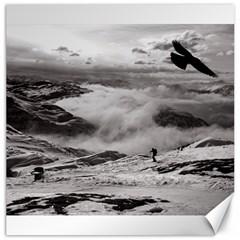 Untersberg mountain, Austria 20  x 20  Unframed Canvas Print