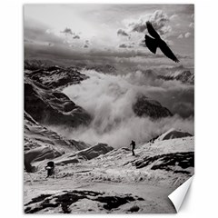 Untersberg Mountain, Austria 11  X 14  Unframed Canvas Print