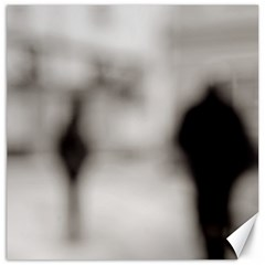 People fading away 12  x 12  Unframed Canvas Print