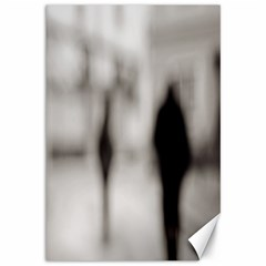 People fading away 12  x 18  Unframed Canvas Print