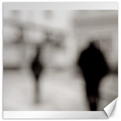 People Fading Away 20  X 20  Unframed Canvas Print