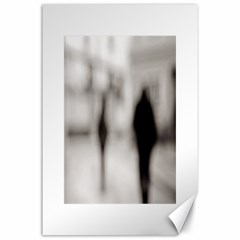 People Fading Away 24  X 36  Unframed Canvas Print