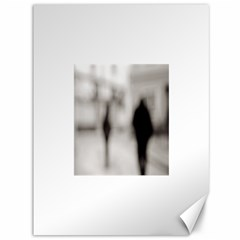 People fading away 36  x 48  Unframed Canvas Print