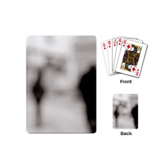 People Fading Away Playing Cards (mini)