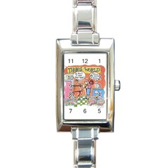 Thong World Classic Elegant Ladies Watch (Rectangle)