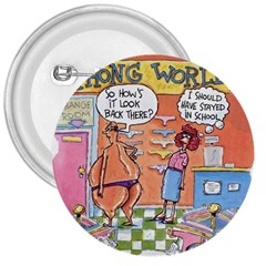 Thong World Large Button (round)