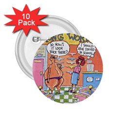 Thong World 10 Pack Regular Button (Round)