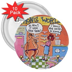 Thong World 10 Pack Large Button (Round)