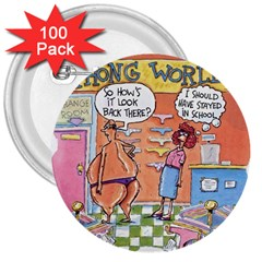 Thong World 100 Pack Large Button (round)