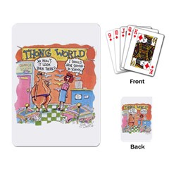 Thong World Standard Playing Cards