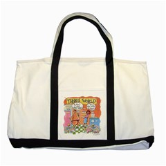 Thong World Two Toned Tote Bag