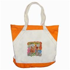 Thong World Snap Tote Bag