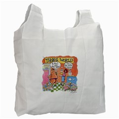 Thong World Single Sided Reusable Shopping Bag