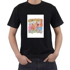 Thong World Black Mens'' T-shirt