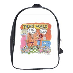 Thong World Large School Backpack