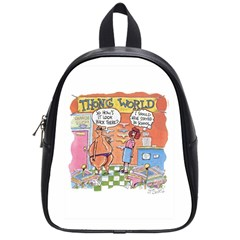 Thong World Small School Backpack