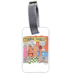Thong World Twin-sided Luggage Tag