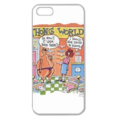 Thong World Apple Seamless iPhone 5 Case (Clear)