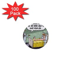 The Good News Is ... 100 Pack Mini Button (Round)