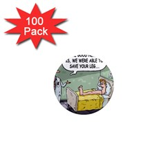 The Good News Is     100 Pack Mini Magnet (round)