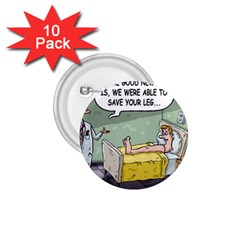The Good News Is ... 10 Pack Small Button (Round)