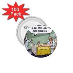 The Good News Is ... 100 Pack Small Button (Round)