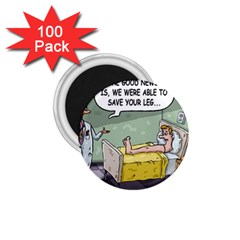 The Good News Is ... 100 Pack Small Magnet (Round)