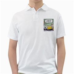 The Good News Is ... White Mens  Polo Shirt
