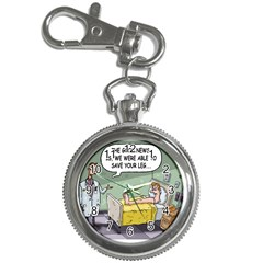 The Good News Is ... Key Chain & Watch