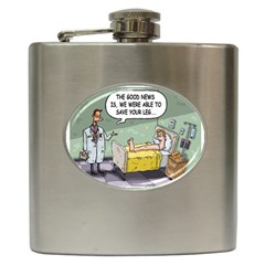 The Good News Is ... Hip Flask