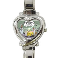 The Good News Is ... Classic Elegant Ladies Watch (Heart)