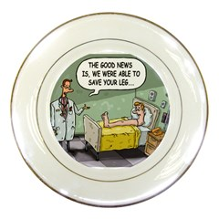 The Good News Is ... Porcelain Display Plate