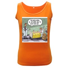 The Good News Is ... Dark Colored Womens'' Tank Top