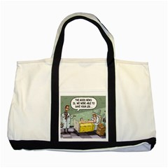 The Good News Is     Two Toned Tote Bag