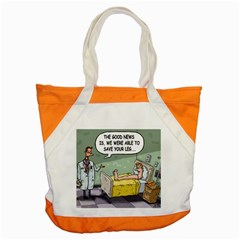 The Good News Is ... Snap Tote Bag