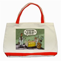 The Good News Is ... Red Tote Bag