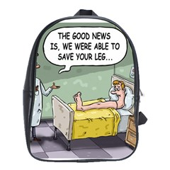 The Good News Is ... Large School Backpack
