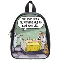 The Good News Is     Small School Backpack